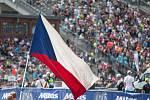 Závod SP v cross country horských kol v Novém Městě na Moravě v kategorii mužů Elite.