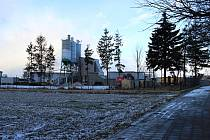 Bystřická průmyslová zóna.