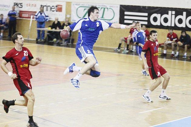 Novoveselský Vojtěch Hron si připsal se svými spoluhráči třetí letošní výhru v I. lize.