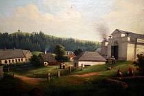 Podoba zaniklé kadovské huti zůstala zachována pouze na obrazech malíře Josefa Ledeliho, které má ve svém depozitáři Horácké muzeum v Novém Městě na Moravě.