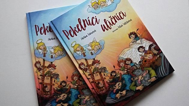 Spisovatelka ze Žďárska vydala novou knížku pro děti. Pekelné uličníky