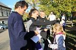 Součástí posvícení byl i symbolický běh pro zdraví, zúčastnili se ho malí i velcí závodníci.