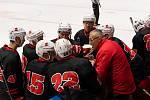Dobrou partu mají ve své kabině v posledních sezonách druholigoví hokejisté Žďáru nad Sázavou.
