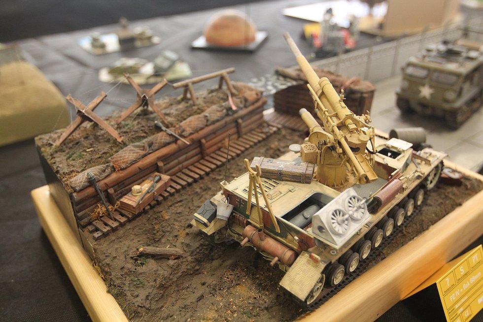 Dioráma zobrazují modely i s částí okolního prostředí.