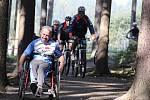 Novoměstské singletracky slouží sportovcům i handicapovaným. O občerstvení a doprovodné služby se postará Test centrum.