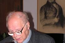 Na semináři k osobě Antonína Bočka nechyběl ani jeden z nejuznávanějších moravských historiků Josef Válka.