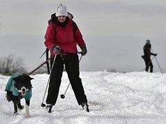 Běžkaři na Žďársku si užívají sněhové nadílky. Spokojeni jsou i hoteliéři.
