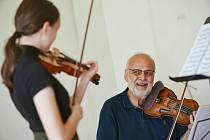 Mezinárodní houslové kurzy Bohuslava Matouška a Jakuba Junka