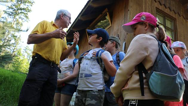 Dětem se na Harusově kopci líbilo.