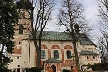 Kostel svaté Kunhuty se může pochlubit unikátní výzdobou.