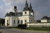 Kostel svatého Václava ve Zvole.