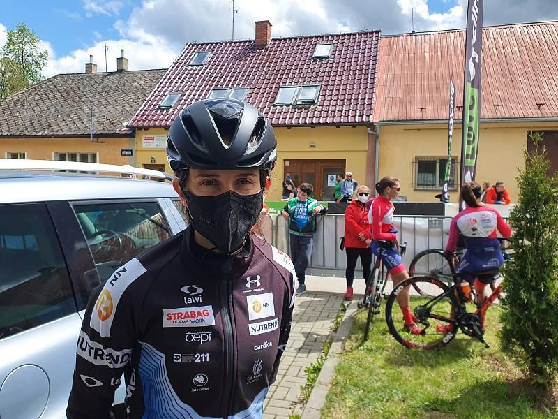 Český pohár na silnici v Mladé Vožici. V ženách vyhrála Martina Sáblíková.
