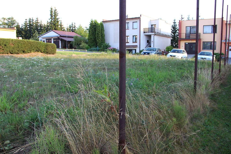 Přípravné práce na revitalizaci plochy v Kavánově ulici sice začaly, jelikož ale souhlas nedali všichni vlastníci dotčených okolních pozemků, akce se zastavila.