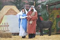 Živý betlém je každým rokem trochu jiný, s originálním scénářem.