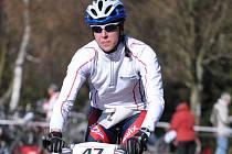 Novoměstská olympionička Eva Skalníková si zkusila po delší době terénní triatlon. Ve Žďáře neměla konkurenci.