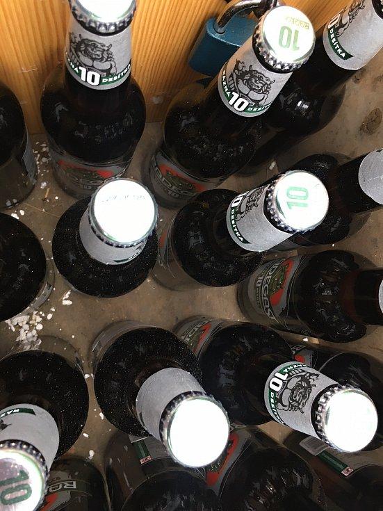 Vorlova pivní jáma se nachází poblíž nejvýše položené obce na Vysočině.