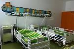 Dětské oddělení v novoměstské nemocnici.