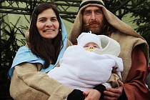 Měřín opět viděl živý betlém s příběhem o narození Ježíše Krista.