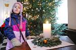 Rozsvícení vánočního stromu v Zámku Žďár nad Sázavou. Snímek je z loňského roku.
