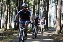 Ve Vysočina Areně v Novém Městě na Moravě najdou příznivci horských kol singletracky.