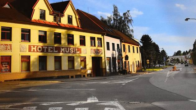 Křižovatka ulic Masarykova, Soškova a Křičkova. Foto: Milan Šustr