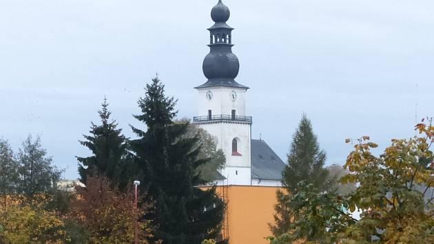 Úvodní verše z básnické tvorby Karla Wojtyly přednese v kostele svatého Prokopa (na snímku) Rudolf Hrušínský mladší.