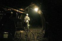 V rámci prvního kontrolního dne byla prohlédnuta nyní pětačtyřicetimetrová průzkumná štola v podzemí uranového dolu Rožná 1.