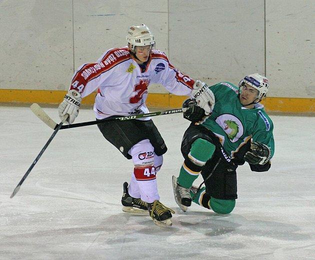 Ze zápasu Žďáru proti Bílině.