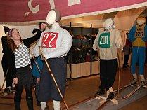 V Horáckém muzeu lyžuje Cyril Musil i Kateřina Neumannová