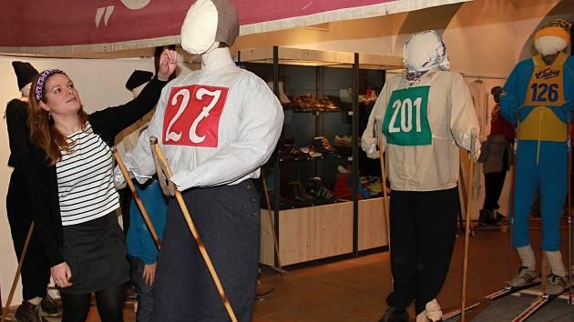 Mnohé exponáty jsou návštěvníkům důvěrně známé.