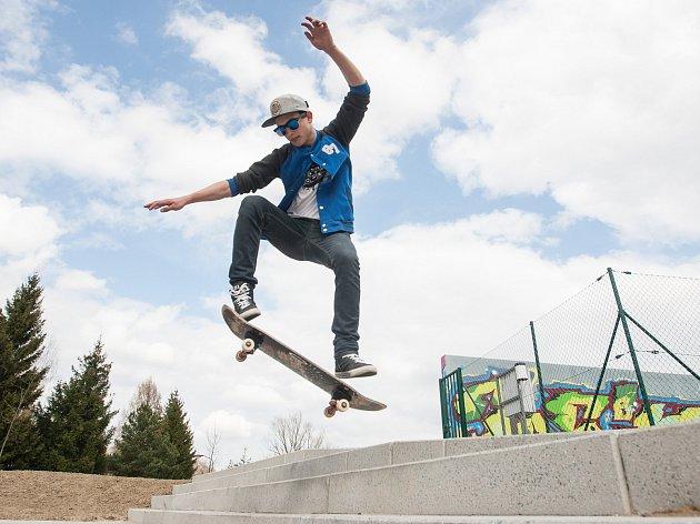 Skatepark ve Žďáře nad Sázavou.