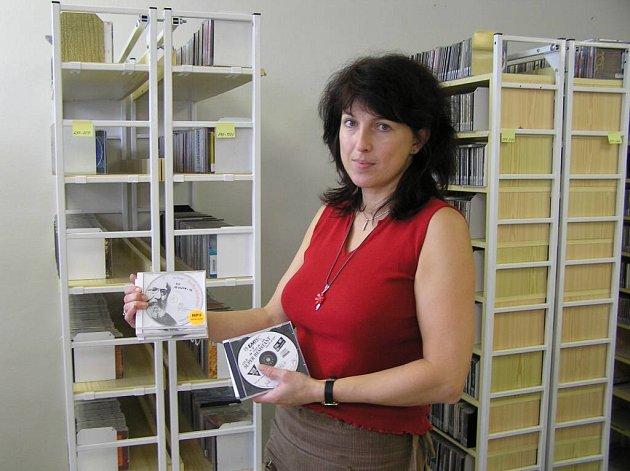 Knihovna Matěje Josefa Sychry nabízí nevidomým a slabozrakým také knihy namluvené ve formátu mp3.