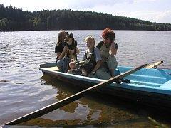 Domanínský rybník v létě...