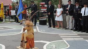 Na oslavu jamských hasičů dorazil i svatý Florián