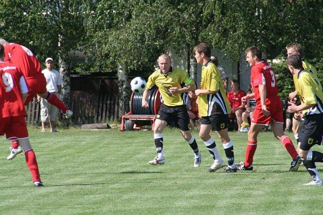 Fotbalisté Bohdalova dokázali napravit svoje zaváhání z minulého týdne a Třešť doma přesvědčivě porazili.