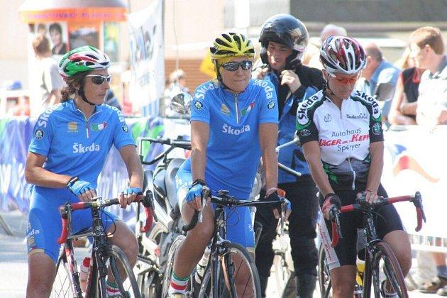 Nejvíce prvenství na cyklistickém mistrovství Evropy ve Žďáře nad Sázavou měli italští jezdci.