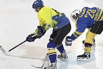 Hokejisté Náměště nedokázali vyhrát na ledě Velkého Meziříčí.