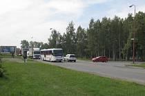 Styková křižovatka, kde se napojuje Chelčického ulice na Jihlavskou, bude přestavěna.