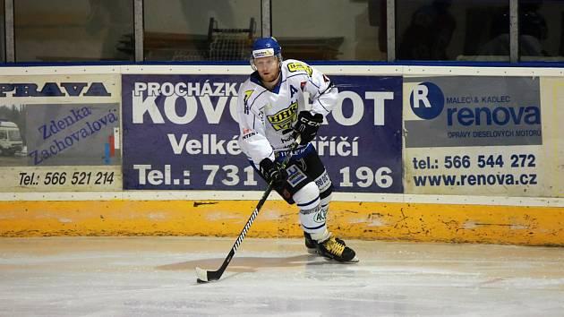 Hokejisté Blanska šokovali lídra na jeho ledě
