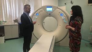"""Novoměstská nemocnice má """"cétéčko"""" s umělou inteligencí"""