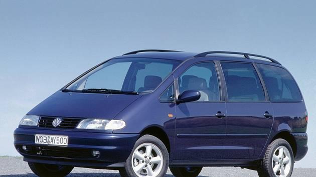 Volkswagen Sharan. Ilustrační foto