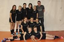 Mladší žákyně Nového Veselí vyhrály volejbalový krajský přebor, dařilo se jim i během kvalifikace na mistrovství republiky, kde skončily v konkurenci šestnáci družstev s bilancí tří výher a čtyř porážek třinácté.