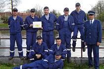 Družstvo mladých mužů z hasičského sboru v Bobrůvce na soutěži v Dlouhém v roce 2008 obsadilo 4. místo.