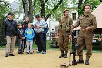 Sedmdesáté výročí konce druhé světové války slavili v sobotu v Novém Městě na Moravě.