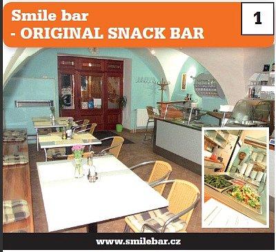 1. Smile bar - ORIGINAL SNACK BAR