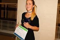 Lea Macková z Přibyslavi získala cenu Talent Vysočiny 2017 v uměleckém oboru a kategorii studentů.