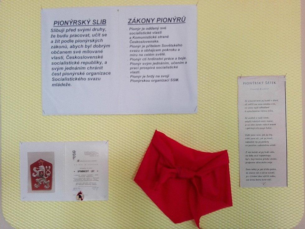 Retrotýden ve žďárské základní škole Komenského 6.