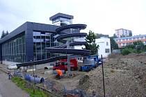 Rekonstrukce žďárského bazénu pokračuje.