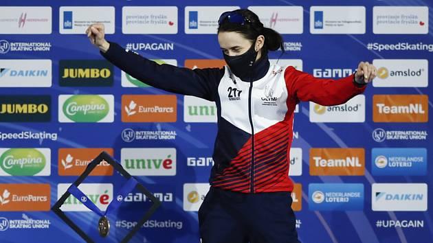 Sáblíková překonala další metu. Má dvanáctou medaili z mistrovství Evropy