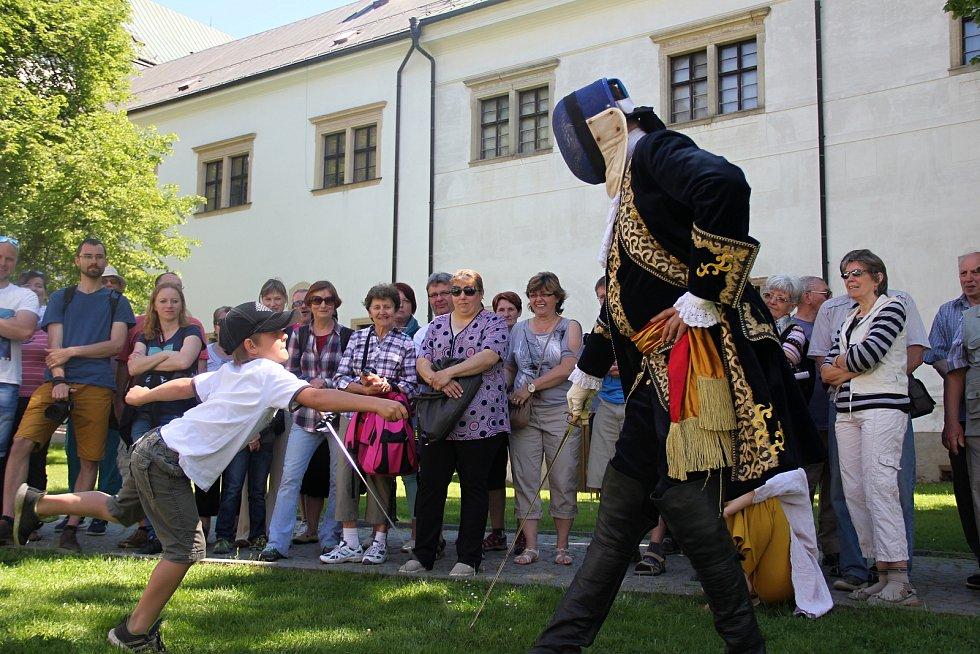 Zámek Žďár nabídl i bohatý doprovodný program.